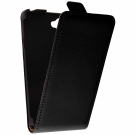 Funda Movil HT Vertical Exclusive Black para Xperia L