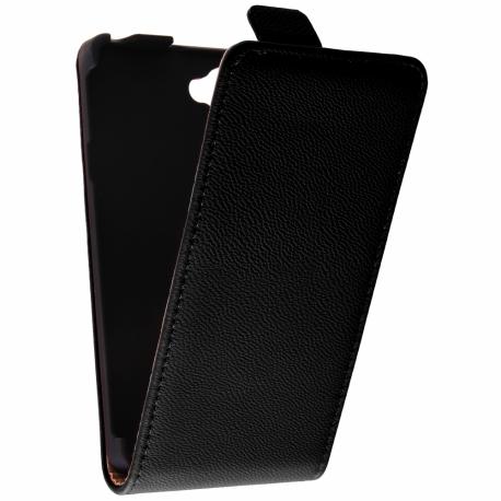 Funda Movil HT Vertical Exclusive Black para Xperia L