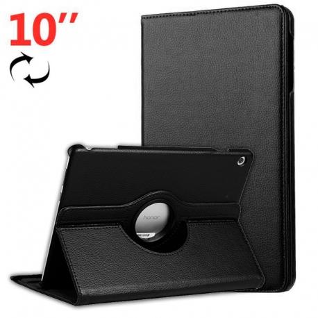 "Funda Tablet HT Rotate 360 Black para Huawei Mediapad T5 10"""