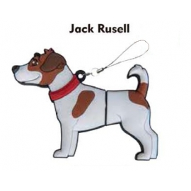 Memoria USB HT Animales 8GB DOG Jack Rusell