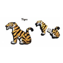 Memoria USB HT Animales 8GB Tiger