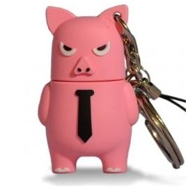 Memoria USB HT Figuras 8GB Angry PIG