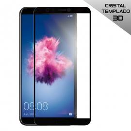 Protector de Pantalla HT Cristal Templado 3D Black para Huawei P Smart