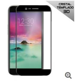 Protector de Pantalla HT Cristal Templado 3D Black para LG K10 2017