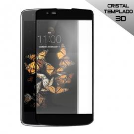 Protector de Pantalla HT Cristal Templado 3D Black para LG K8