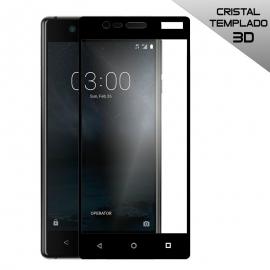 Protector de Pantalla HT Cristal Templado 3D Black para Nokia 3