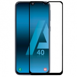 Protector de Pantalla HT Cristal Templado 3D Black para Samsung A40 A405