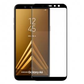Protector de Pantalla HT Cristal Templado 3D Black para Samsung Galaxy A6 2018 A600