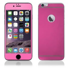 Protector de Pantalla HT Cristal Templado Front + Back Pink para iPhone 6/6S Plus