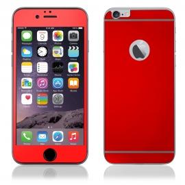 Protector de Pantalla HT Cristal Templado Front + Back red para iPhone 6/6S