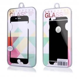 Protector de Pantalla HT Cristal Templado Front + Back Shiny Black para iPhone 6/6S Plus