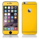 Protector de Pantalla HT Cristal Templado Front + Back Yellow para iPhone 6/6S