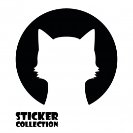 Sticker Adhesivo para Tablet HT CAT Black
