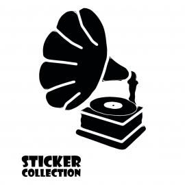 Sticker Adhesivo para Tablet HT Gramophone S Black