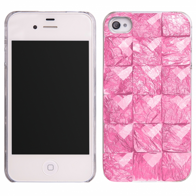 f0ab2d26a55 FUNDA MOVIL BACK COVER HT STONES PINK PARA IPHONE 5/5S