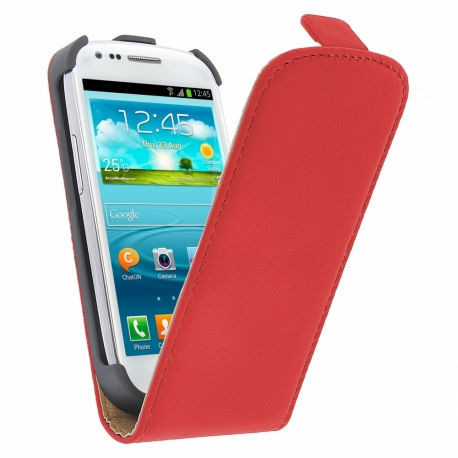 Funda movil ht vertical exclusive red para samsung galaxy s3 mini i8190 - Samsung s3 mini fundas ...
