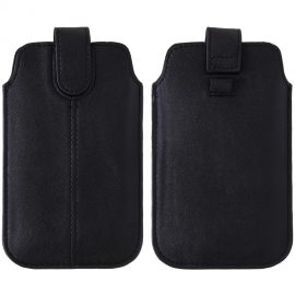 FUNDA MOVIL UNIVERSAL HT PULL-UP XL BESTYLE LUX BLACK