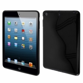 FUNDA TABLET BACK CASE HT JELLY CASE BLACK PARA IPAD MINI